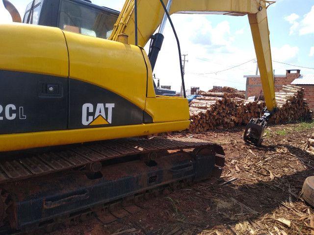 Escavadeira com garra para madeira  - Foto 2