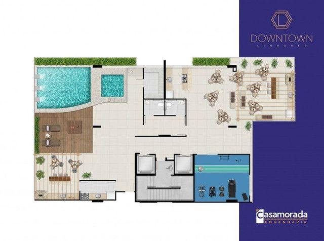 Apartamento 4 quartos, 4 suítes, 3 vagas cobertas no Downtown Linhares - Foto 17
