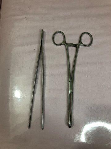 Pinças para piercing - Foto 2