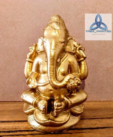 Ganesha estatueta impressão 3D - Foto 2