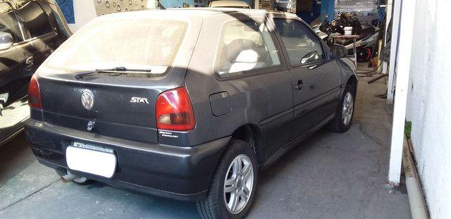 VW Gol Star 1.6 único dono completo menos ar - 1998 - Foto 3