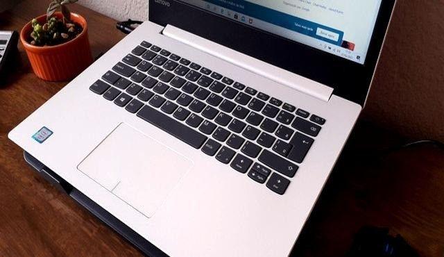 notebook lindo branco, lenovo i3, 6 geração, 4gb