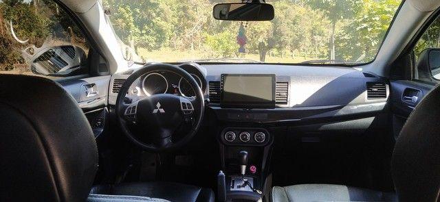 Mitsubishi Lancer 2.0 16V 160cv CVT ano 2013 - Foto 5