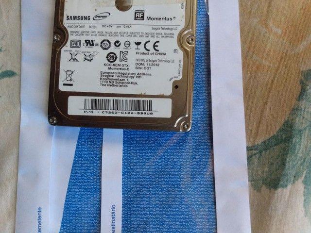HD de Notebook Samsung - 250.0GB - Foto 2