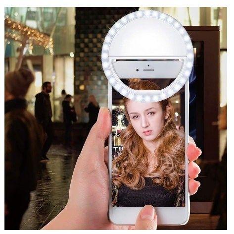 Mini Ring Ligth Para Fotos Selfie e Vídeos Para Celular - Foto 2