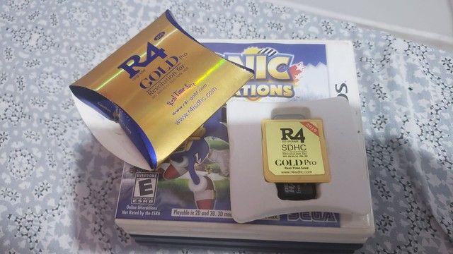 Jogos 3ds,ds e um r4 - Foto 6