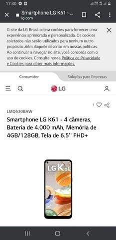 Smartphone LG K61 - Foto 3