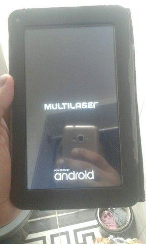 Tabreti da mu tablet da Multilaser semi-novo140reaa vendo ele - Foto 3
