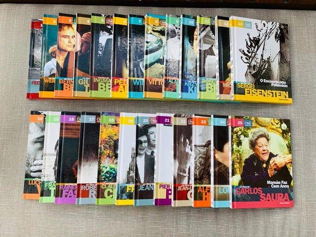 Coleção completa Folha Cine Europeu - 25 livros-DVDs
