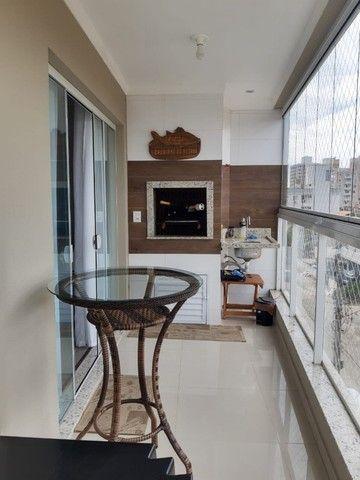 lindo apartamento no Gravatá Navegantes mobiliado 03 dormitórios ótima localização - Foto 7