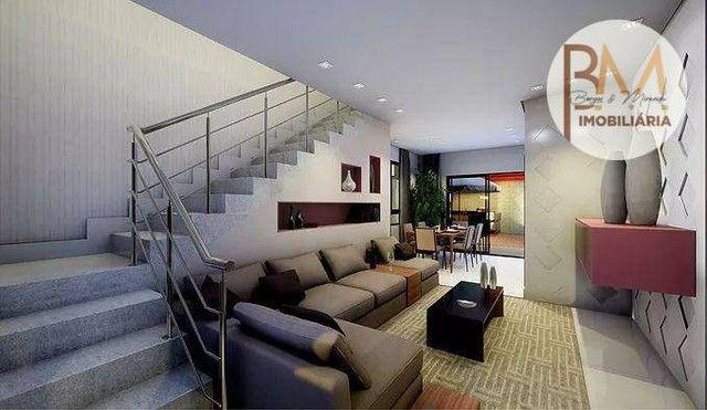 Casa com 4 dormitórios à venda, 108 m² por R$ 546.295,45 - Sim - Feira de Santana/BA - Foto 2