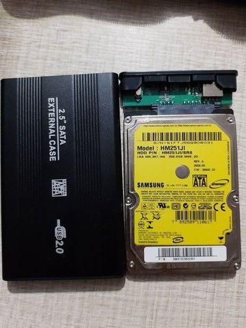 HD Externo 250GB - Foto 3