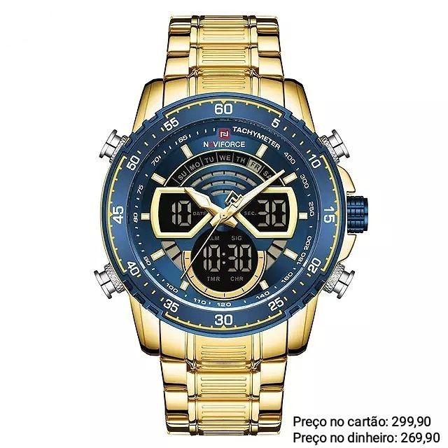 Relógio Masculino Original Naviforce Para Pessoas Exigentes