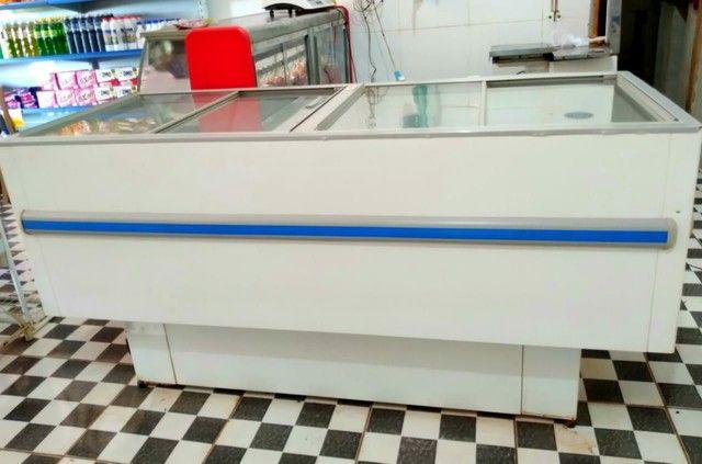 Vendo Freezer Ilha GELOPAR 520L - Foto 2