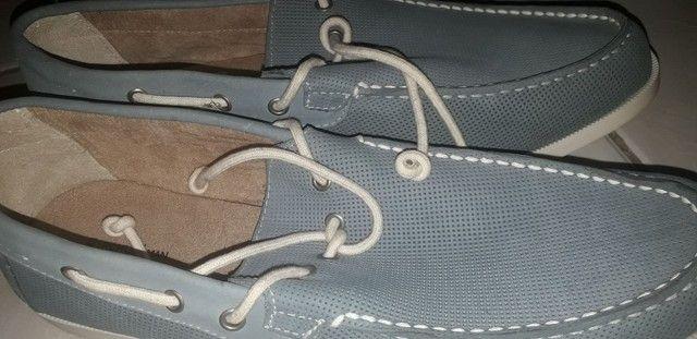 Sapato dockside novo
