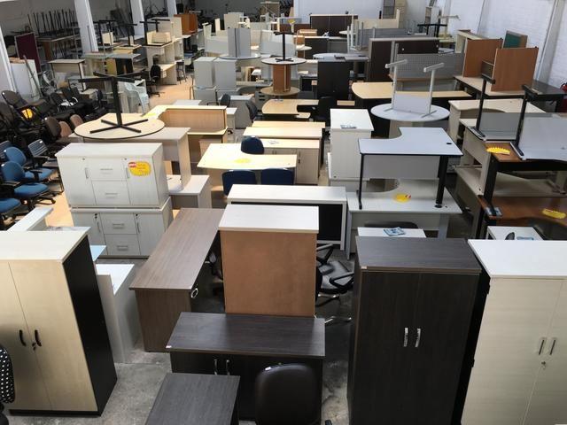 Móveis Usados e Seminovos p/ escritórios