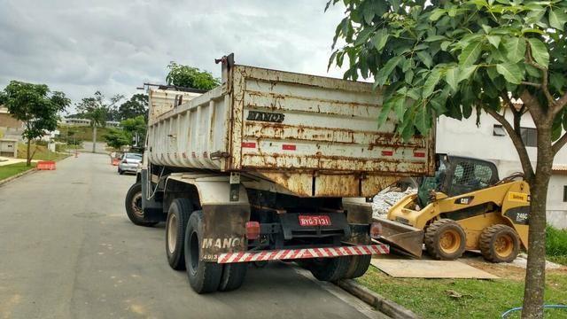 Demolição Caminhão basculante + bobcat + Mini escavadeira , retirada de entulho ou terra - Foto 3
