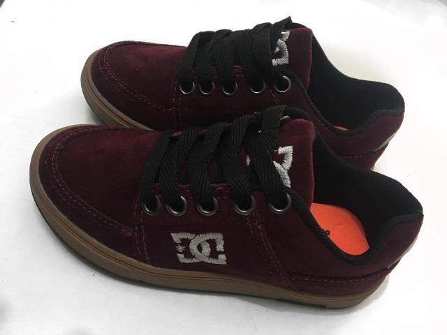 5b9b4b4b2ba61 Tênis DC Shoes Skate Infantil Novo - Artigos infantis - Vila Moinho ...