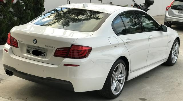 BMW 528i 52 mil km único Dono kit M - Foto 6