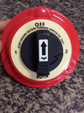 Chave P/ 1 ou 2 Baterias Refletivo no Escuro