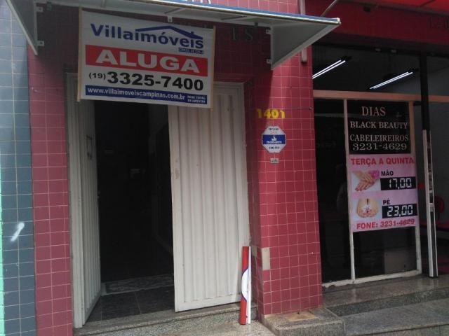 Loja comercial para alugar em Centro, Campinas cod:SA004760