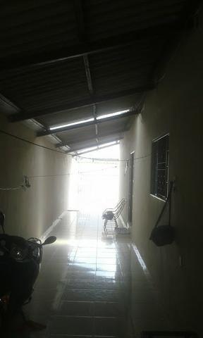 Casa 3/4 quartos c/ súite de laje garagem para 3 carros bairro residencial américa 135 mil - Foto 2