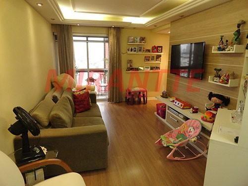 Apartamento à venda com 3 dormitórios em Água fria, São paulo cod:300635