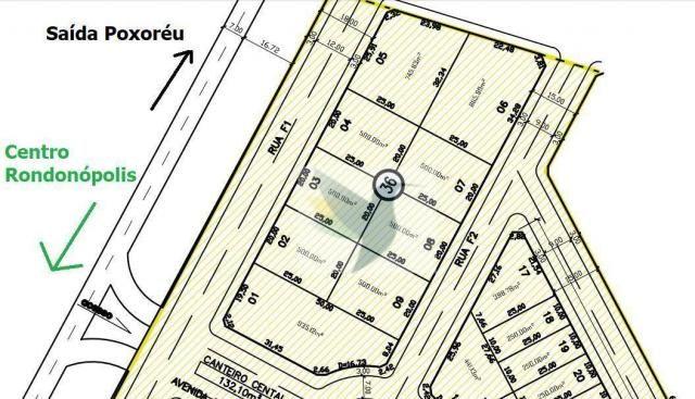 Terreno à venda, 500 m² por r$ 300.000 - porto ferreira residencial - Foto 2
