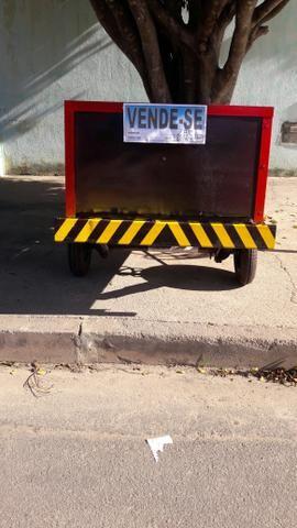Carretinha p moto - Foto 2