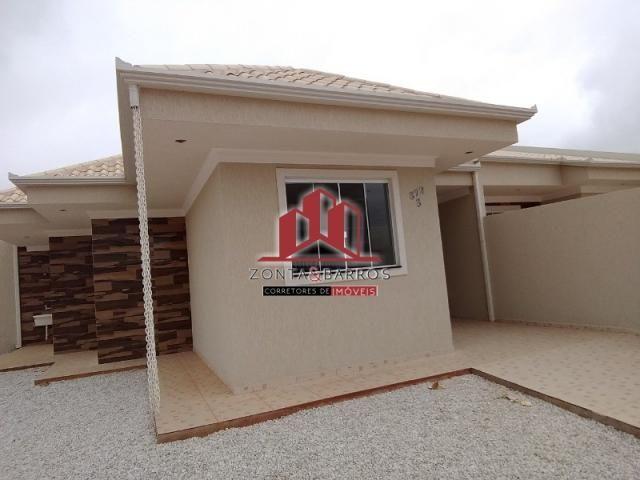 Casa à venda com 3 dormitórios em Eucaliptos, Fazenda rio grande cod:CA00115 - Foto 3