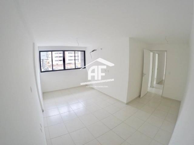 Apartamento novo na Jatiúca - 3 quartos sendo 1 suíte - Prédio com piscina - Foto 12