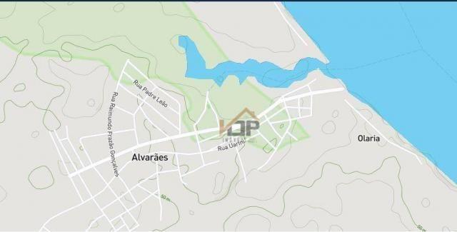 Comercial à venda, 91 m² por r$ 76.440 - são francisco - alvarães/am - Foto 3