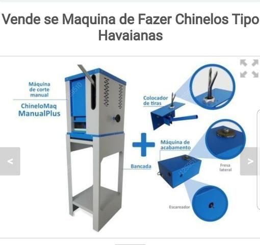Maquina de fazer chinelos tipo Havaianas. Parcelo no cartão 3x - Foto 3