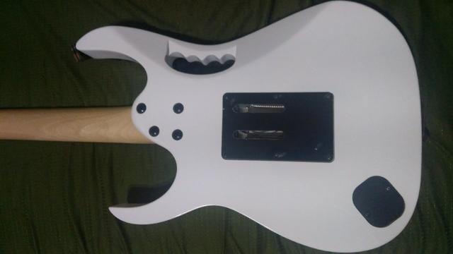 Guitarra Ibanez Jem Jr white Steve Vai floral inlay - Zerada !!! (somente venda) - Foto 5