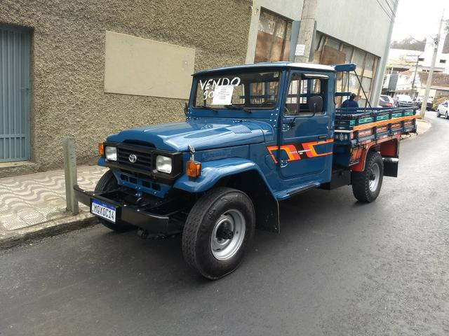 Vendo Toyota Bandeirante Hidráulica Freio a disco - Foto 8