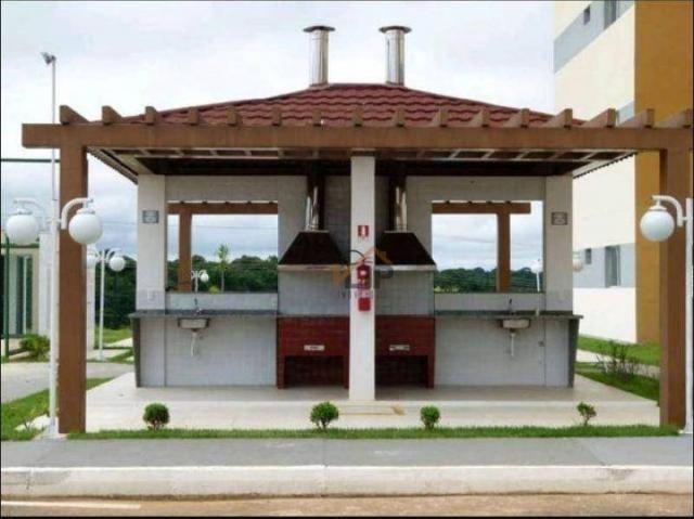 Apartamento com 2 dormitórios à venda, 51 m² por R$ 70.494,26 - Zona Rural - Iranduba/AM - Foto 5