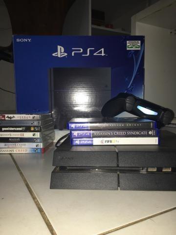 Ps4 + jogos PS3/PS4
