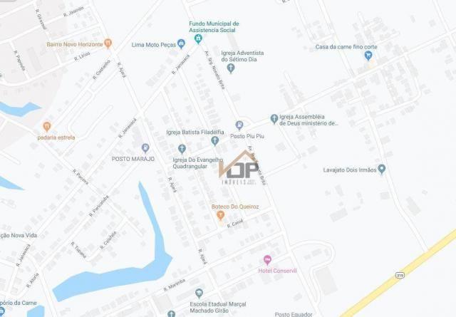 Área à venda, 197 m² por r$ 132.077 - urbano horizonte - careiro/am