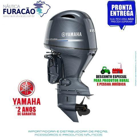 Motor de Popa Yamaha 4T F 115hp Betl (Partida, Comando e Trim) - Foto 2