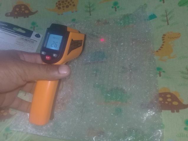 Termometro a laiser