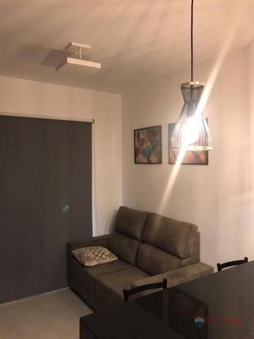 Apartamento com 1 dormitório para alugar, 40 m² por R$ 1.800,00/mês - Jardim Tarraf II - S - Foto 8