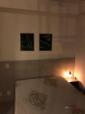 Apartamento com 1 dormitório para alugar, 40 m² por R$ 1.800,00/mês - Jardim Tarraf II - S - Foto 15