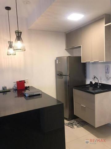 Apartamento com 1 dormitório para alugar, 40 m² por R$ 1.800,00/mês - Jardim Tarraf II - S - Foto 4