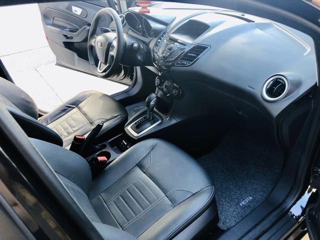 Ford Fiesta 1.6 Titanium Automático 2014 impecável - Foto 14