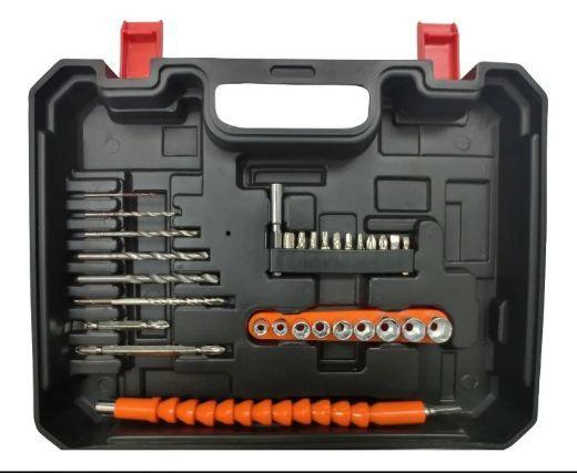 Furadeira | Parafusadeira Arita Bateria 12v Lítio + 30 Bits - Foto 3