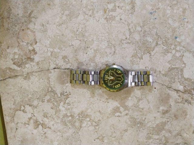 Relógio c/ pulseira de aço - Foto 4
