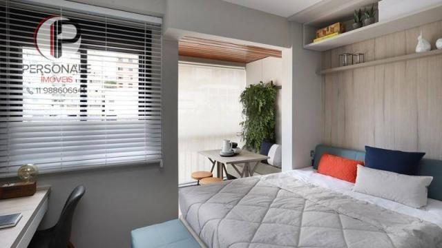 Studio com 1 dormitório à venda, 21 m² por R$ 340.990,00 - Vila Madalena - São Paulo/SP - Foto 2