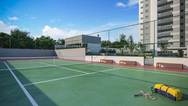 Apartamento com 3 dormitórios à venda, 137 m² por R$ 927.120,00 - Ária - Cuiabá/MT - Foto 17