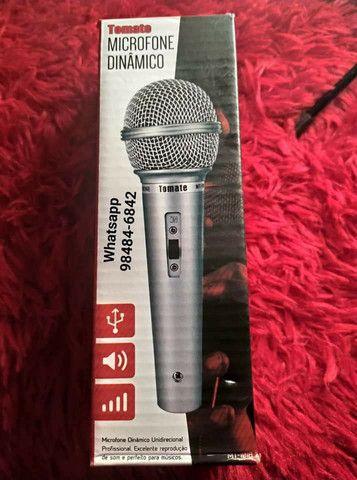 Microfone dinâmico