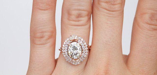 Anel de Noivado com Diamante - Foto 3